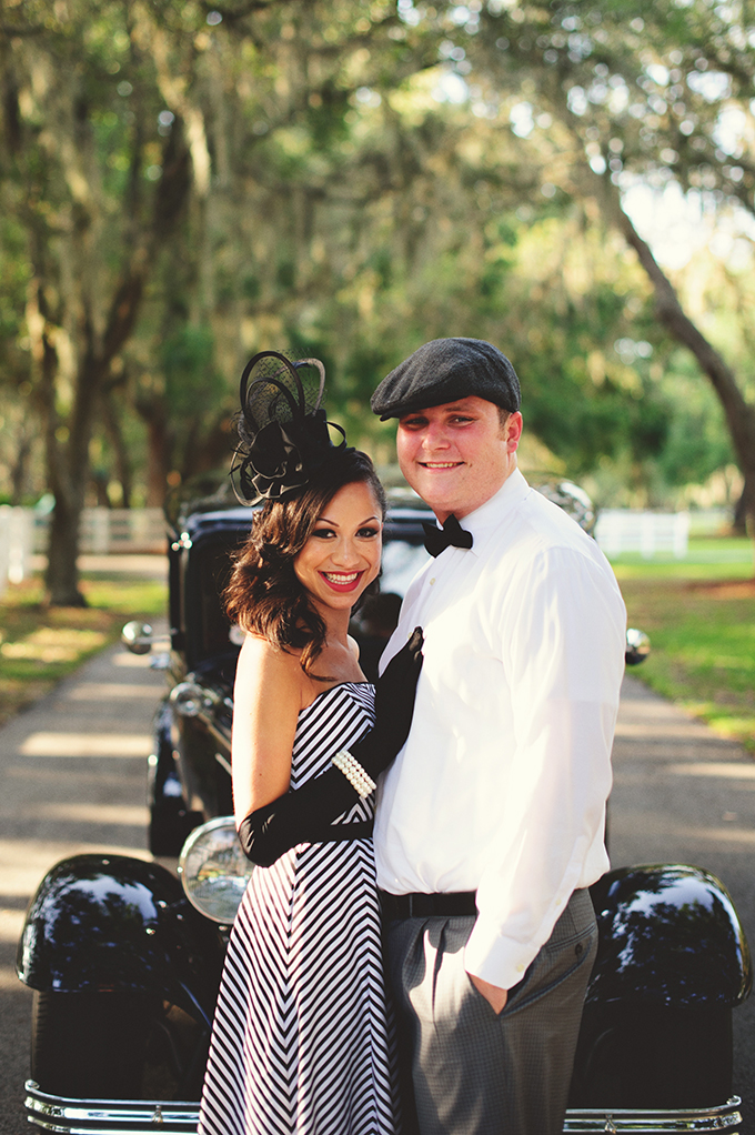 Photo Fridays | A Romantic Vintage Florida Engagement