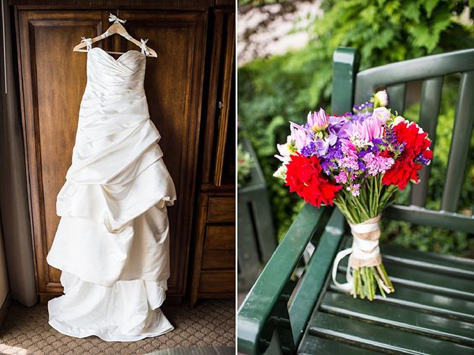 fun red barn wedding | Van Wyhe Photography