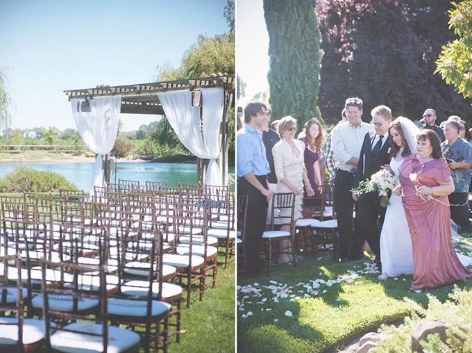 midsummer's night dream wedding | Emily Heizer Photography