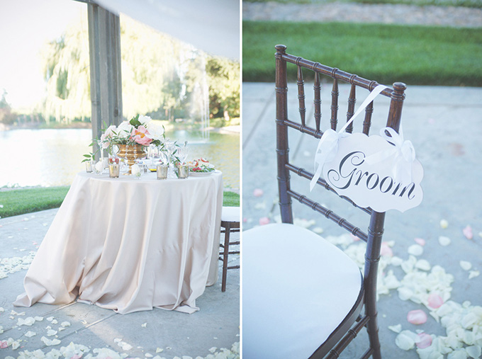 sweetheart table | Emily Heizer Photography