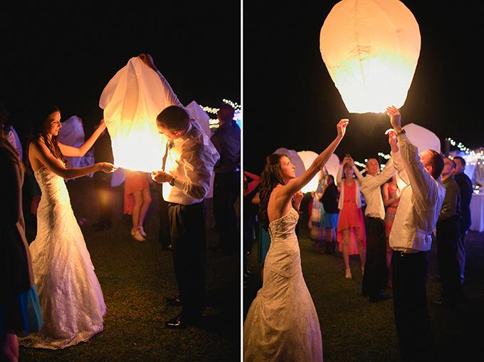 lantern send off | KT Crabb Photography
