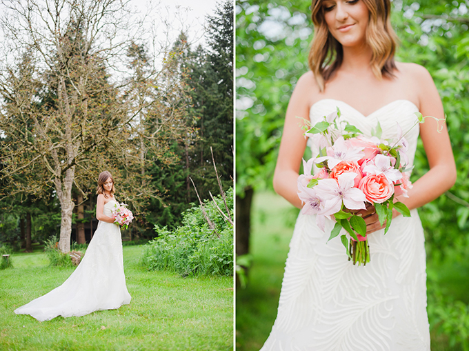 pink summer wedding inspiration | Brittany Lauren Photography
