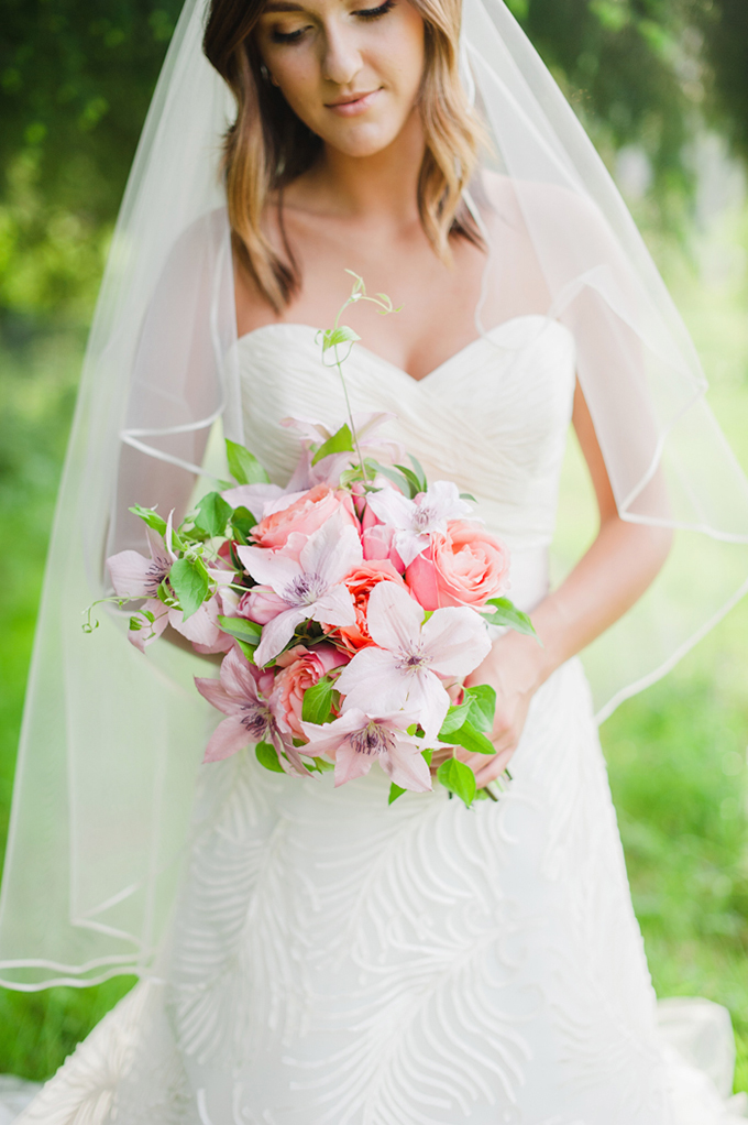 pink bouquet | Brittany Lauren Photography