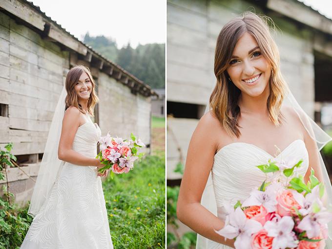 pink summer wedding inspiration | Brittany Lauren Photography