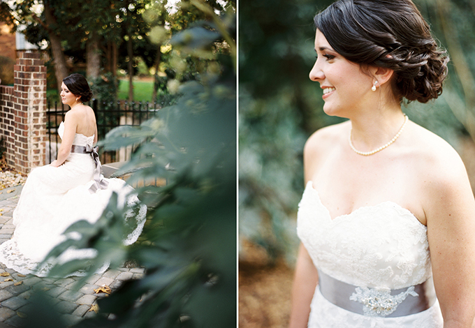 romantic film bridal session | Josh Deaton Photography