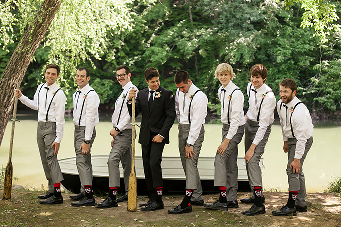 groomsmen | Sarah Becker Photography