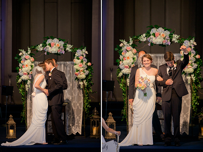 romantic blush DIY wedding | Sarah Becker Photography