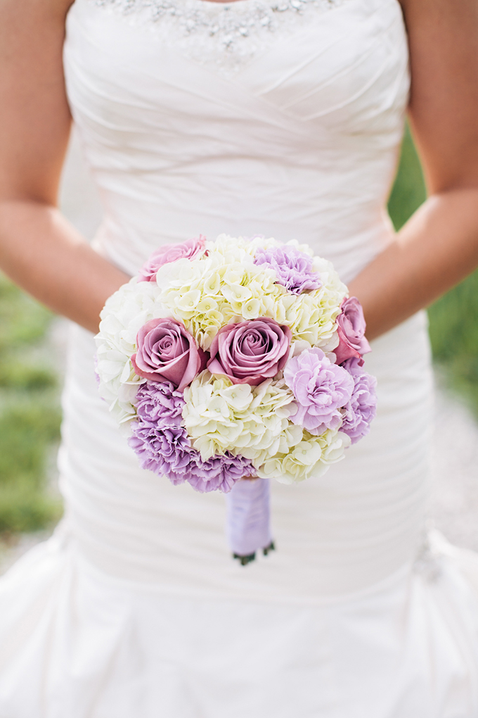 purple and white bouquet | Carretto Studio Photography
