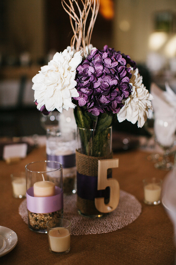 Rustic purple vineyard wedding glamour grace