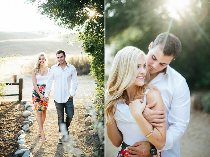 A summery california engagement glamour grace for Fun things for couples to do in nyc