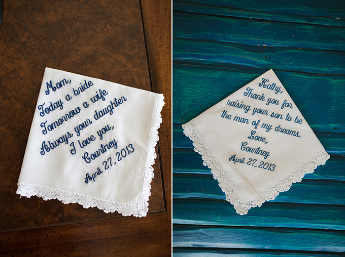 embroidered hankies for mom and mom-in-law | pure7studios
