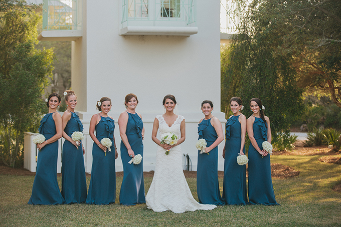 blue bridesmaids | pure7studios