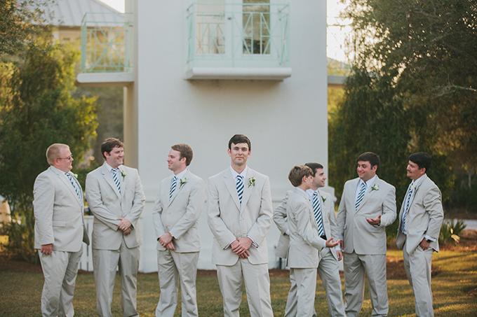 cream suit groomsmen | pure7studios