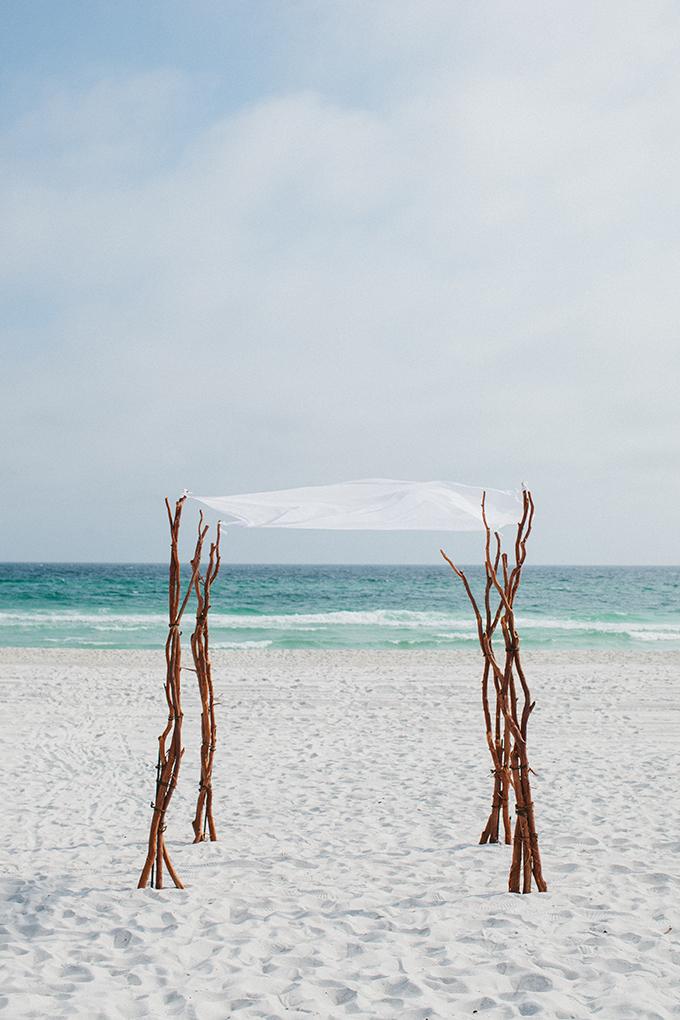 beach ceremony | pure7studios