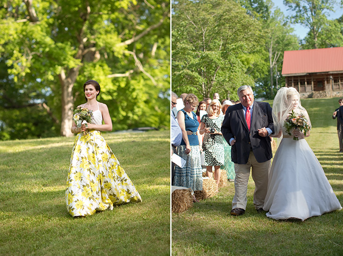 Yellow And Green Southern Summer Wedding