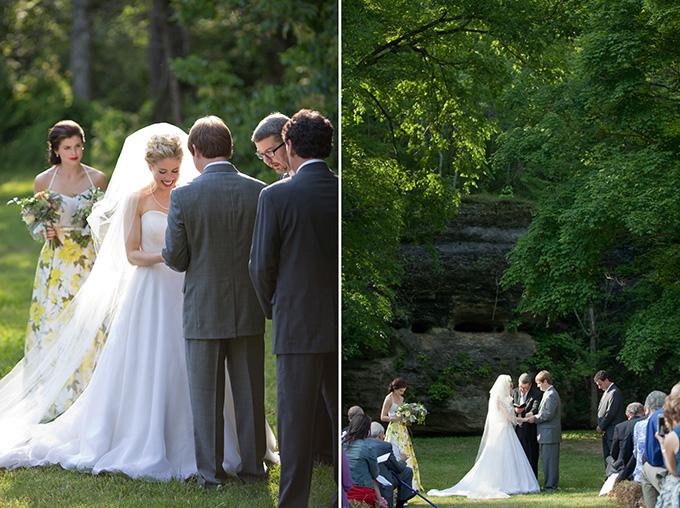 yellow southern summer wedding   Chesley Summar Photography