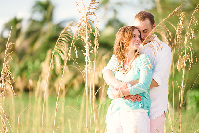 Florida sunset engagement | Hunter Ryan Photo