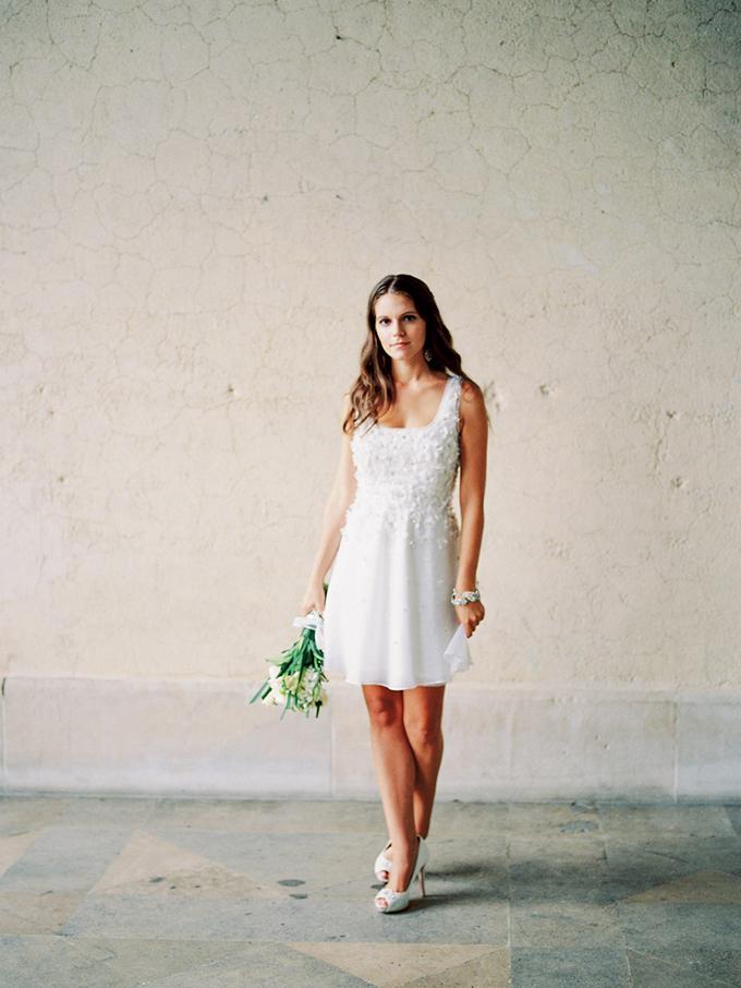 Favorite Short Wedding Dresses | Glamour & Grace