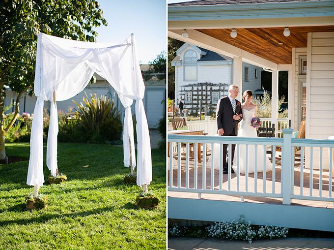 intimate purple vineyard wedding | Orbie Pullen Photography