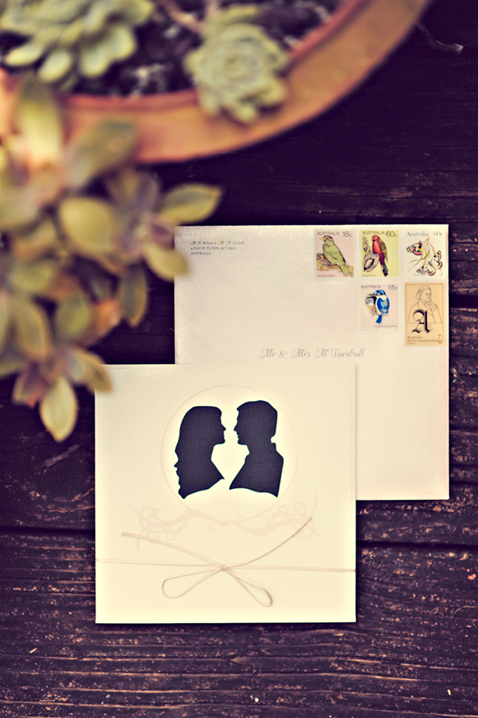 sihouette invitations | Tamiz Photography