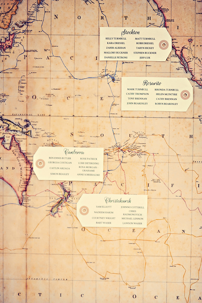 vintage map escort chart | Tamiz Photography