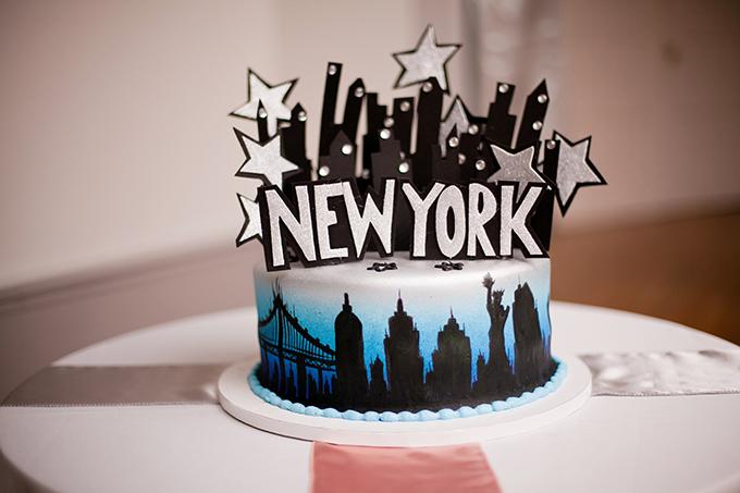new york cake   Jen & Chris Creed   Glamour & Grace