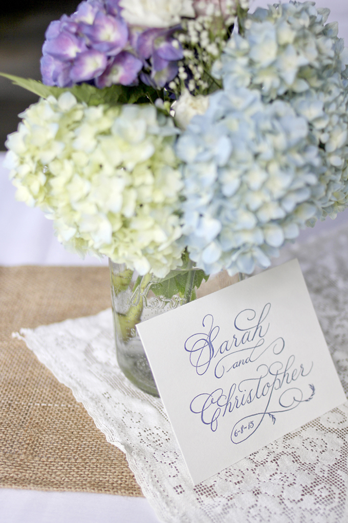 calligraphy invitation | Holly Cromer Photography | Glamour & Grace