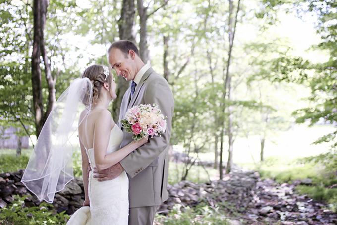 pastel handmade wedding | Holly Cromer Photography | Glamour & Grace