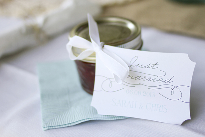 jam favors | Holly Cromer Photography | Glamour & Grace