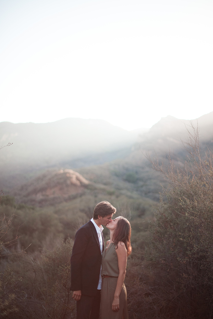 romantic California engagement | T.C. Engle Photography | Glamour & Grace