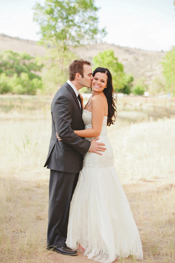 romantic pink and turquoise wedding inspiration | Denise Nicole Photography | Glamour & Grace