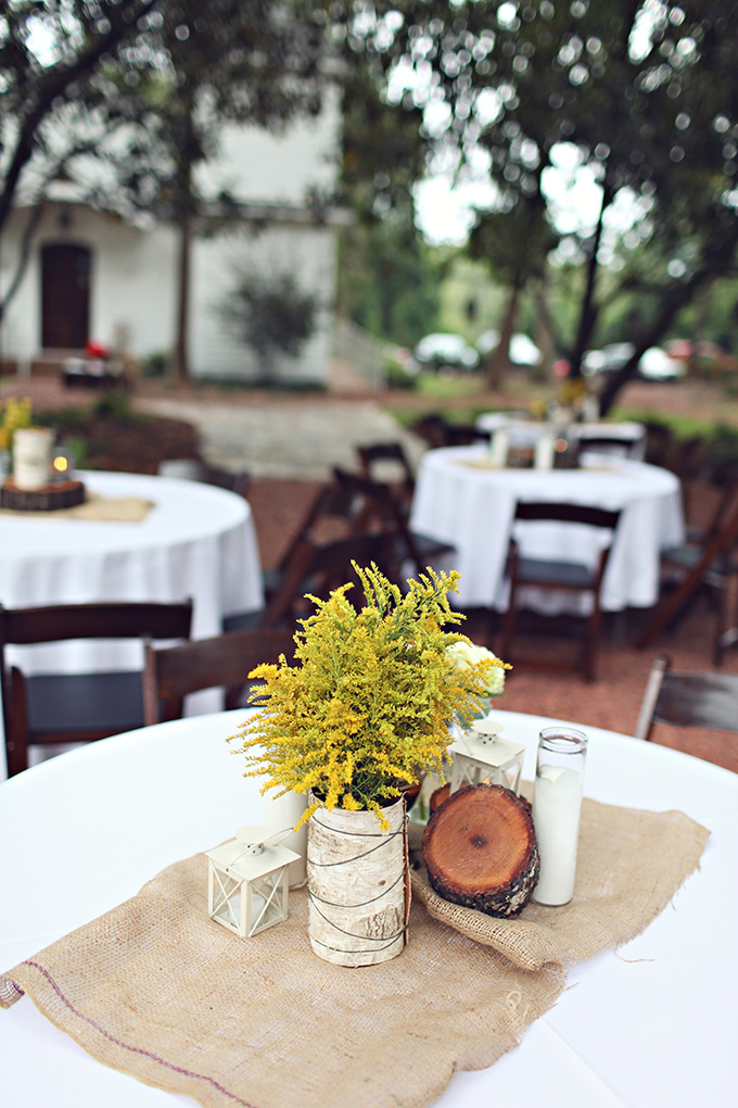 A Rustic Yellow And Gray Handmade Wedding Glamour Grace