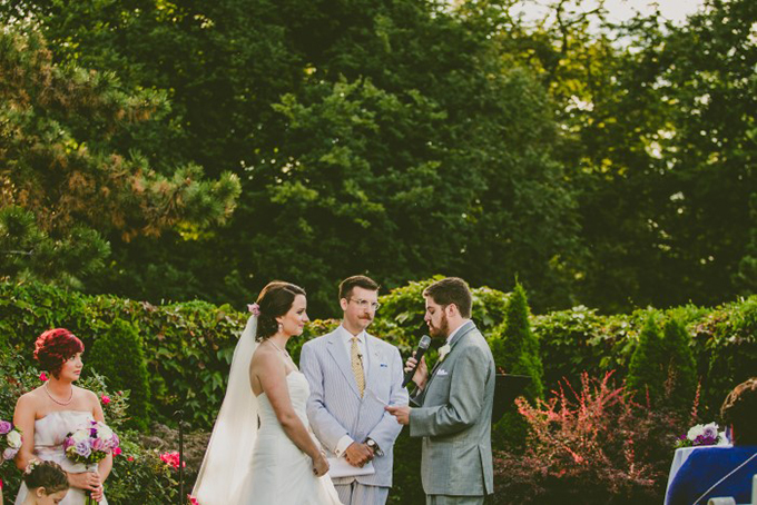 Beatles themed aviary wedding | Carolyn Scott Photography | Glamour & Grace