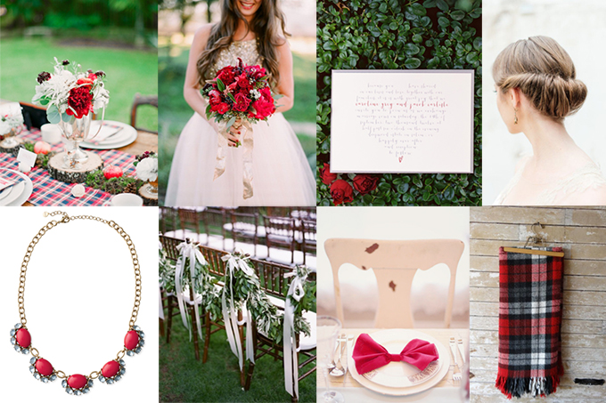 rustic red wedding inspiration | Glamour & Grace