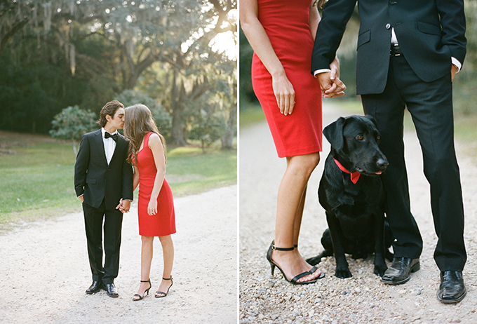 glam holiday engagement | Catherine Guidry | Glamour & Grace