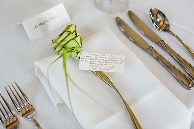 palmetto rose place setting | Riverland Studios | Glamour & Grace
