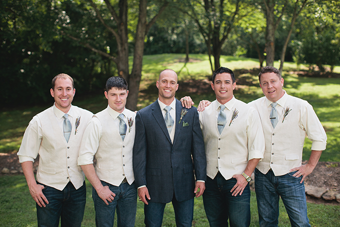 groomsmen | Courtney Reese Photography | Glamour & Grace