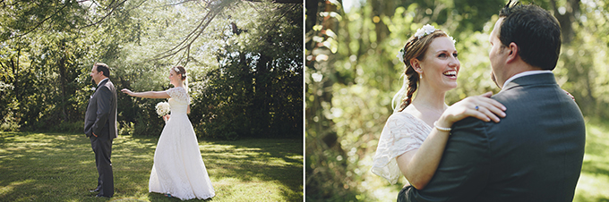 first look | Brooke Courtney Photography | Glamour & Grace