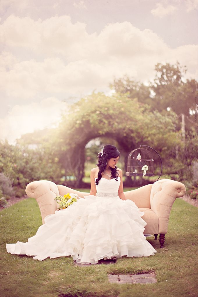 fairy take bridal portrait | Archetype Studio Inc | Glamour & Grace