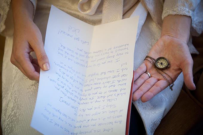 compass wedding gift | Ellen Jaskol | Glamour & Grace