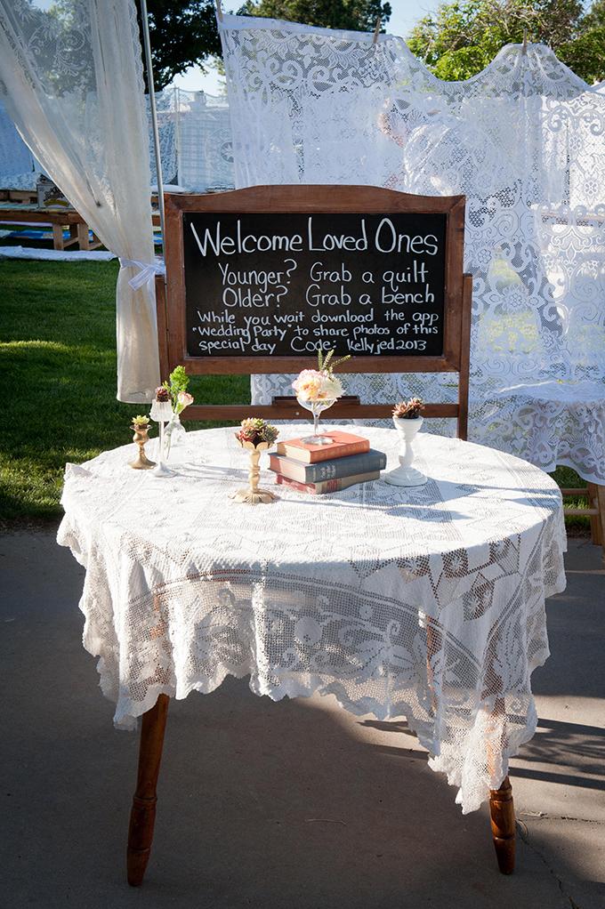 Creative Diy Backyard Wedding Glamour Amp Grace