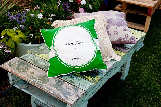 DIY backyard wedding | Ellen Jaskol | Glamour & Grace