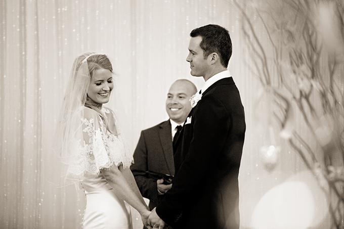glam black and white wedding   Erin Johnson Photography   Glamour & Grace