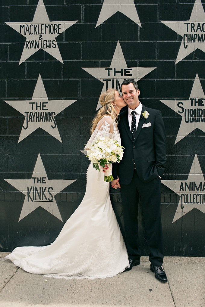 glam black and white wedding | Erin Johnson Photography | Glamour & Grace