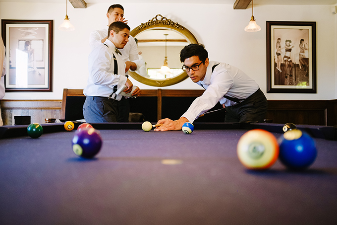 groomsmen pool | Snapmotive | Glamour & Grace