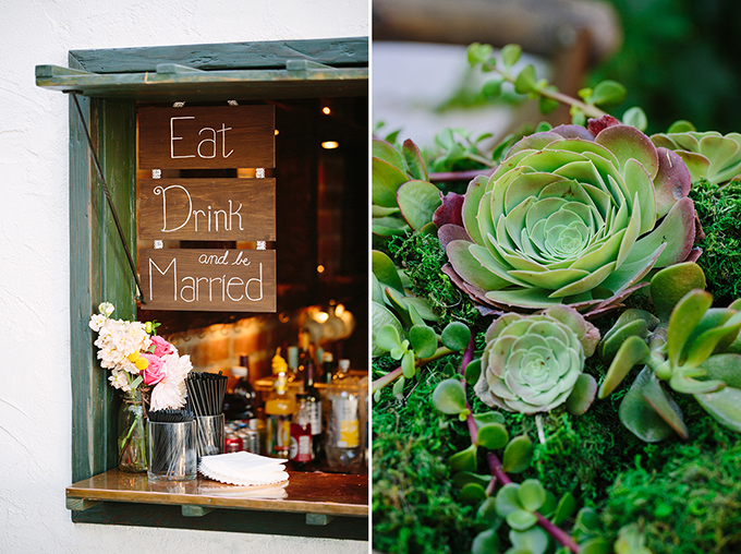 eat drink and be married | Snapmotive | Glamour & Grace