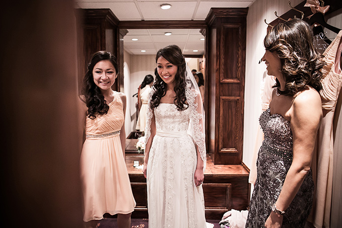 bride getting ready | Femina Photo + Design | Glamour & Grace