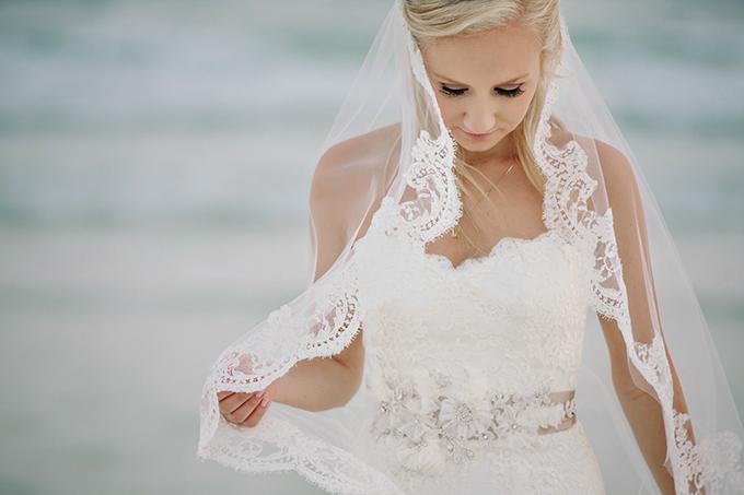lace trimmed veil | dear wesleyann | Glamour & Grace