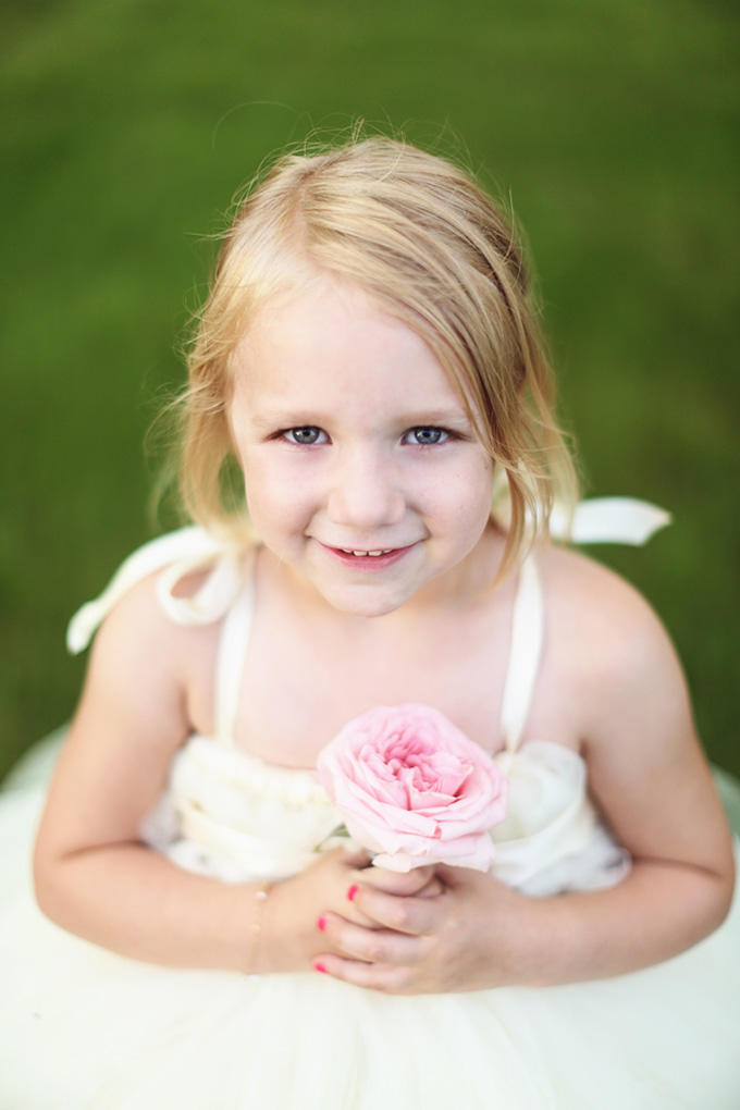 flower girl | KaBloom Studios | Glamour & Grace