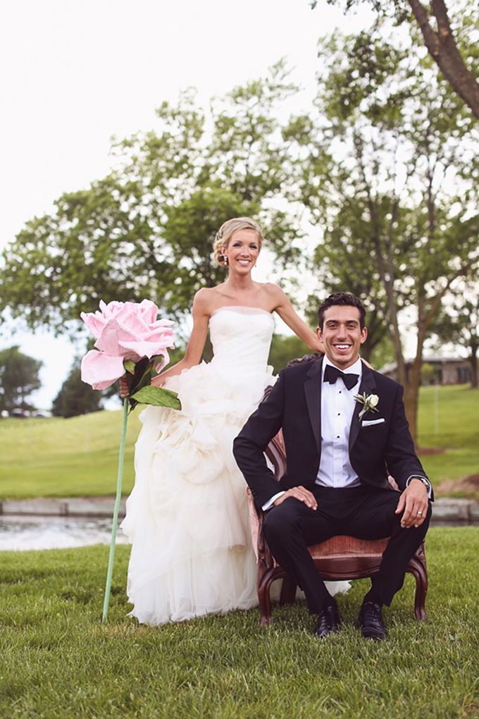 pink calligraphy wedding | KaBloom Studios | Glamour & Grace